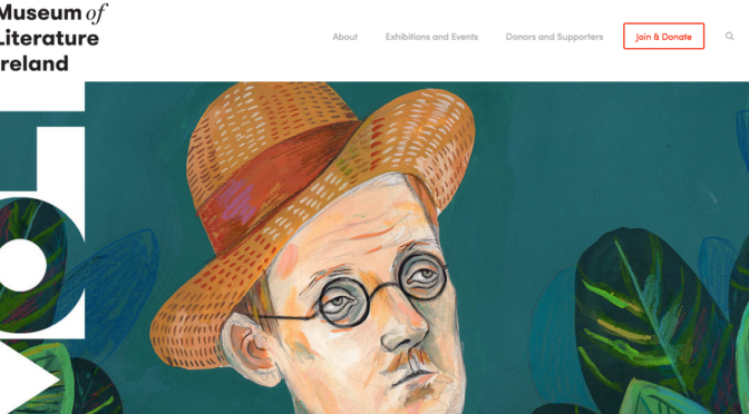 Launch of MoLI –a museum of literature for the world's greatest storytellers.